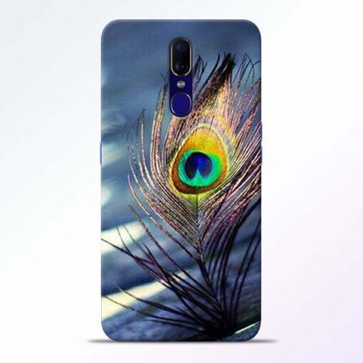 Krishna More Pankh Oppo F11 Mobile Cover