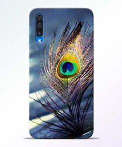 Krishna More Pankh Samsung A50 Mobile Cover - CoversGap