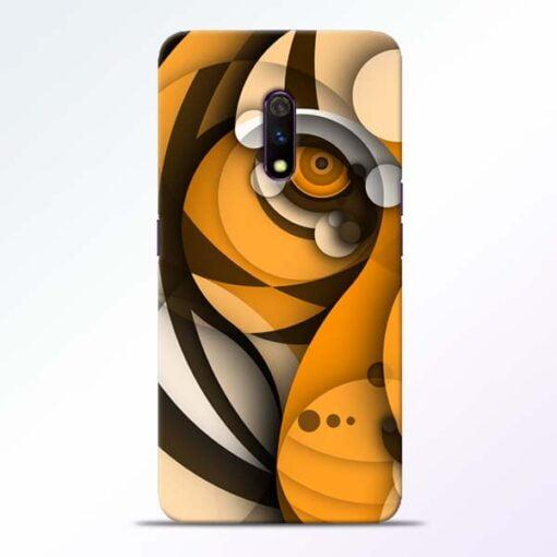 Lion Art Realme X Mobile Cover