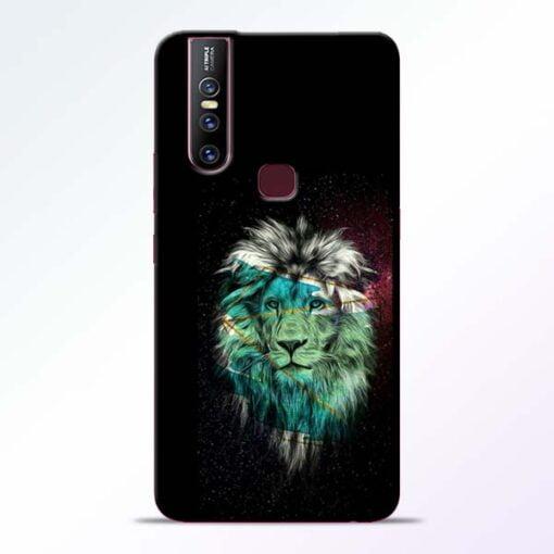 Lion Print Vivo V15 Mobile Cover
