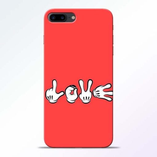 Buy Love Symbol iPhone 7 Plus Mobile Cover at Best Price