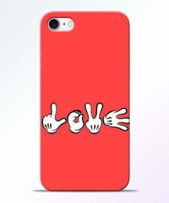 Buy Love Symbol iPhone 8 Mobile Cover at Best Price