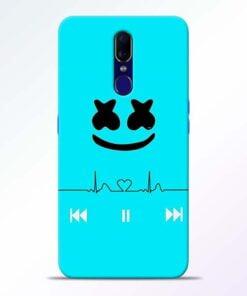 Marshmello Song Oppo F11 Mobile Cover