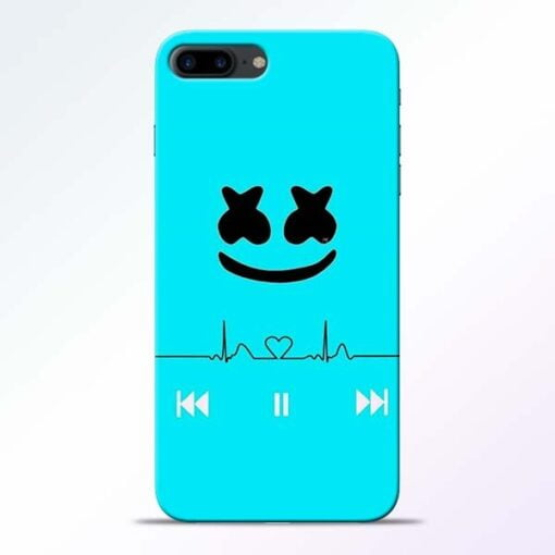 Buy Marshmello Song iPhone 7 Plus Mobile Cover at Best Price