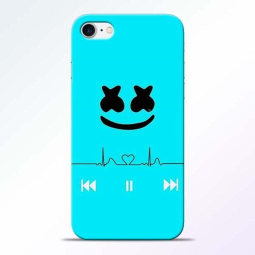 Buy Marshmello Song iPhone 8 Mobile Cover at Best Price