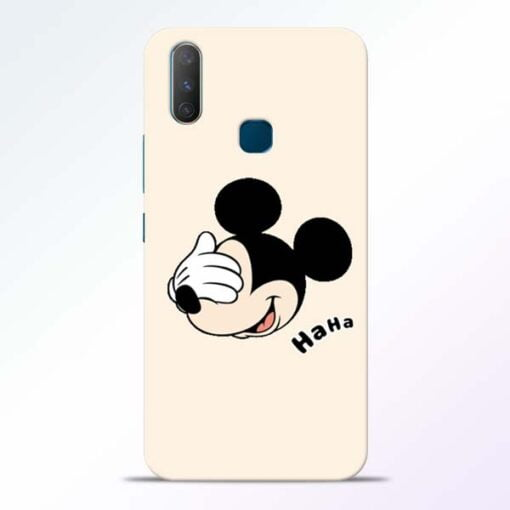 Mickey Face Vivo Y17 Mobile Cover