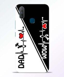 Mom Dad Vivo Y17 Mobile Cover