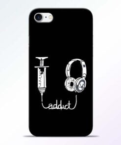 Buy Music Addict iPhone 8 Mobile Cover at Best Price
