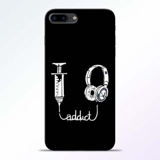 Buy Music Addict iPhone 8 Plus Mobile Cover at Best Price
