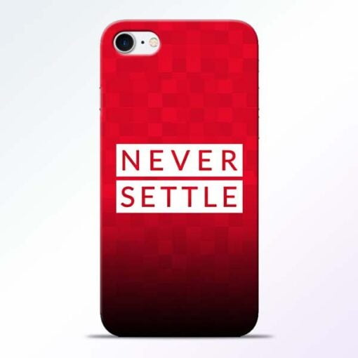Buy Never Settle iPhone 8 Mobile Cover at Best Price