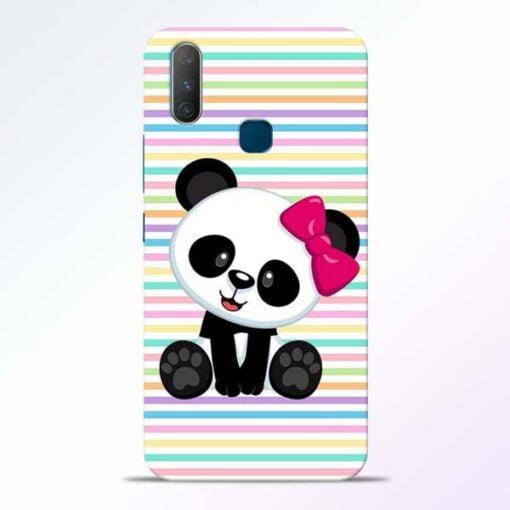 Panda Girl Vivo Y17 Mobile Cover
