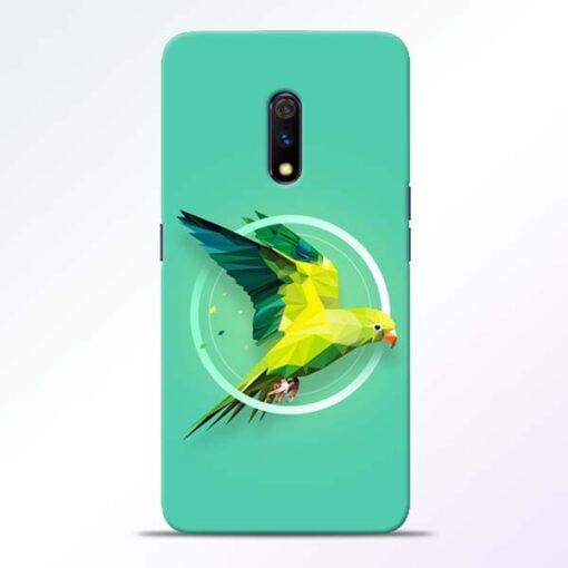 Parrot Art Realme X Mobile Cover