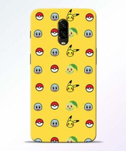 Pokemon Art OnePlus 6T Mobile Cover