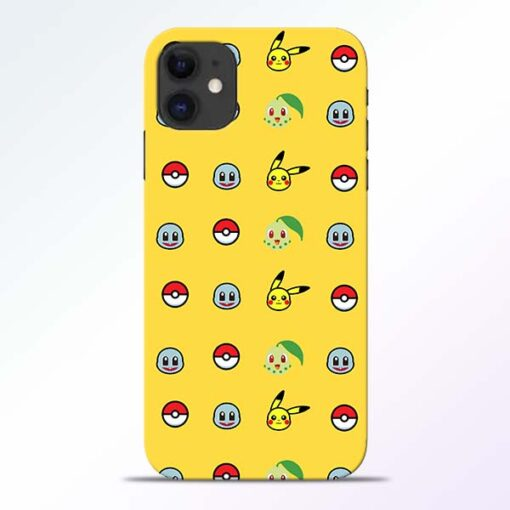 Pokemon Art iPhone 11 Mobile Cover