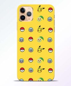 Pokemon Art iPhone 11 Pro Mobile Cover