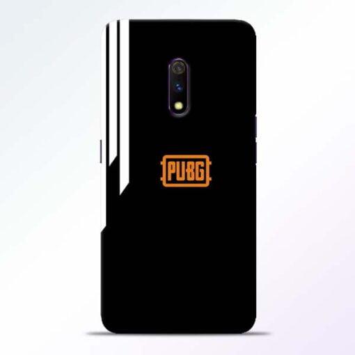 Pubg Lover Realme X Mobile Cover