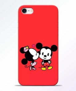 Buy Red Cute Mouse iPhone 7 Mobile Cover at Best Price