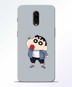 Shin Chan OnePlus 6T Mobile Cover