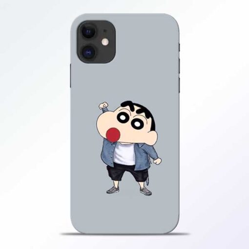 Shin Chan iPhone 11 Mobile Cover
