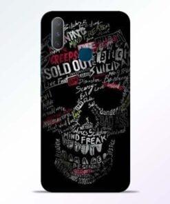 Skull Face Vivo Y17 Mobile Cover