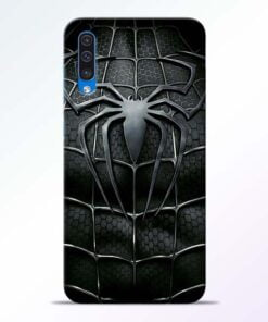 Spiderman Web Samsung A50 Mobile Cover - CoversGap