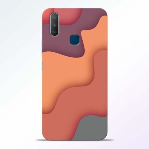 Spill Color Art Vivo Y17 Mobile Cover