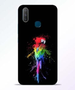 Splatter Parrot Vivo Y17 Mobile Cover