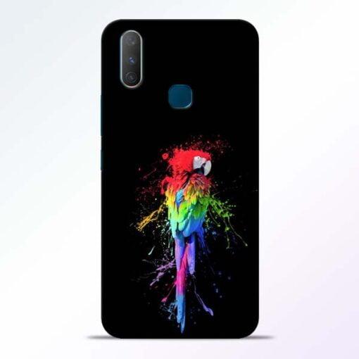 Splatter Parrot Vivo Y17 Mobile Cover