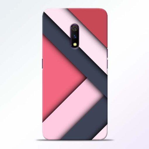 Texture Design Realme X Mobile Cover