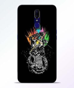 Thanos Hand Oppo F11 Mobile Cover