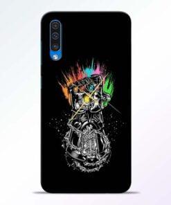 Thanos Hand Samsung A50 Mobile Cover - CoversGap