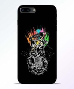 Buy Thanos Hand iPhone 8 Plus Mobile Cover at Best Price