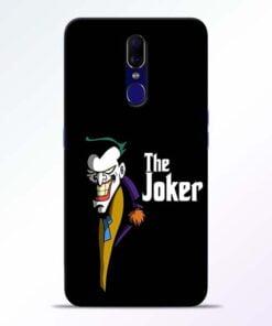 The Joker Face Oppo F11 Mobile Cover
