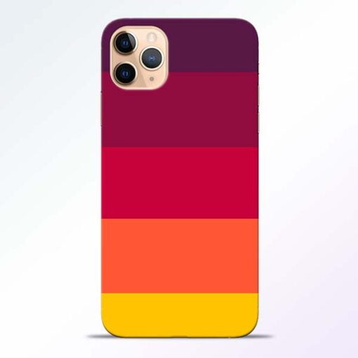 Thick Stripes iPhone 11 Pro Mobile Cover
