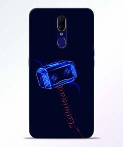 Thor Hammer Oppo F11 Mobile Cover