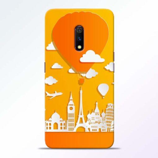 Traveller Realme X Mobile Cover