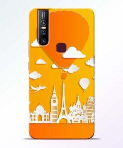 Traveller Vivo V15 Mobile Cover