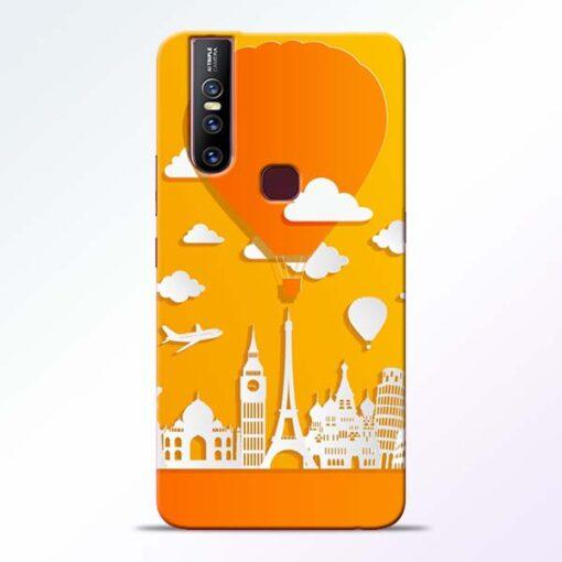 Traveller Vivo V15 Mobile Cover