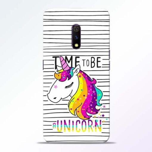 Unicorn Horse Realme X Mobile Cover