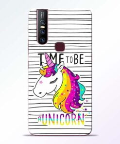 Unicorn Horse Vivo V15 Mobile Cover