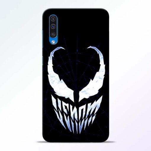 Venom Face Samsung A50 Mobile Cover - CoversGap