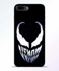 Buy Venom Face iPhone 7 Plus Mobile Cover at Best Price