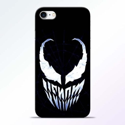 Buy Venom Face iPhone 8 Mobile Cover at Best Price