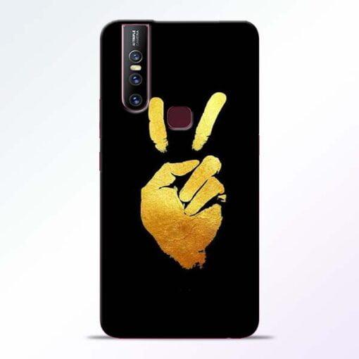 Victory Hand Vivo V15 Mobile Cover