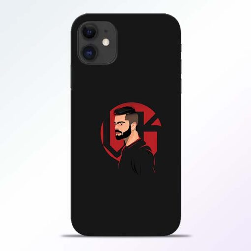 Virat iPhone 11 Mobile Cover