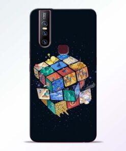 Wolrd Dice Vivo V15 Mobile Cover