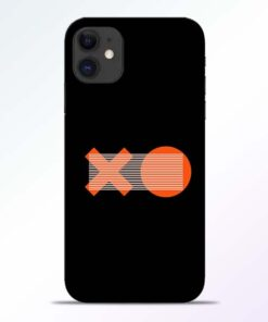 XO Pattern iPhone 11 Mobile Cover