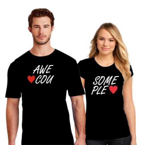Awesome Couple T shirt