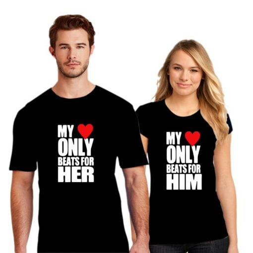 Beats for Her Couple T shirt