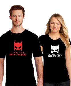 Catwomen Couple T shirt